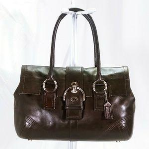 Coach Leather Soho Satchel Handbag